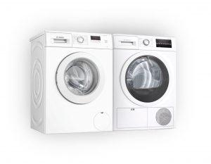 wasmachine en droger huren
